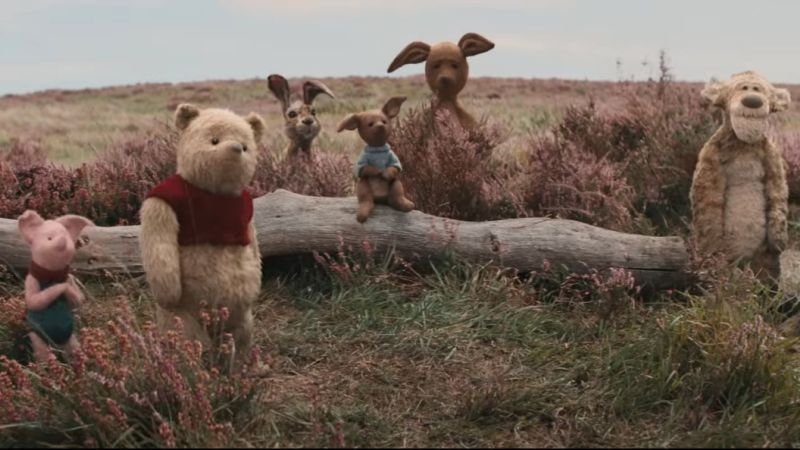 Disney's Christopher Robin Sneak Peek Has Adorable Animals