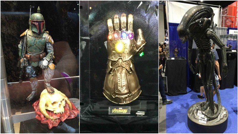 More 2018 Comic-Con Show Floor Photos!