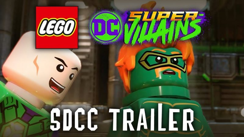 Comic-Con: Harley Quinn Explains LEGO DC Super-Villains