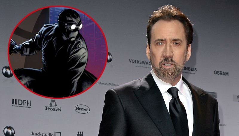 Nicolas Cage To Play Spider-Man