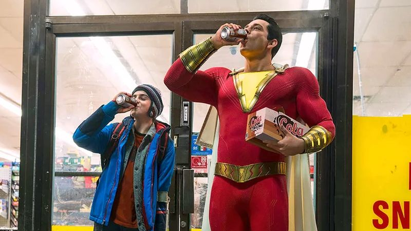 Comic-Con: The Shazam Trailer Says the Magic Word!