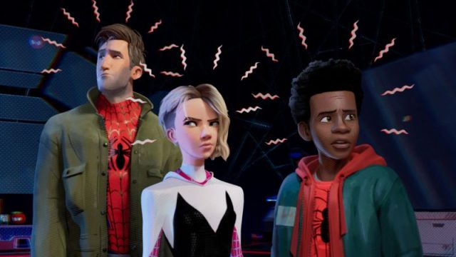 The Spider Team Assembles in New Into the Spider-Verse Clip