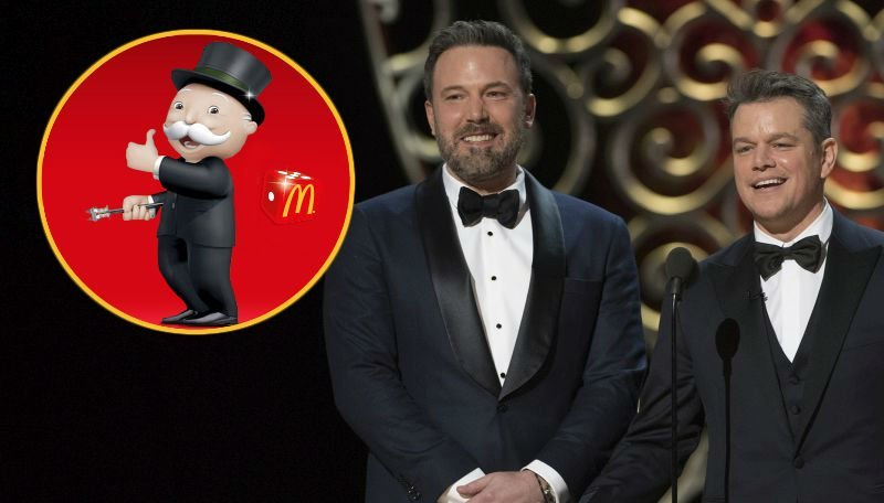 Ben Affleck, Matt Damon Team for Movie About a McDonald's Monopoly Scheme