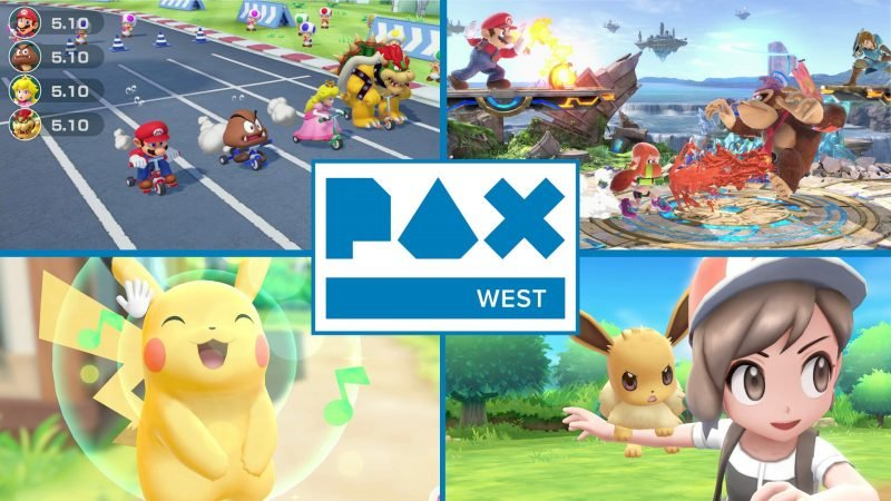 PAX West: Nintendo brings Super Smash Bros and much more!