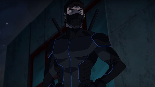Young justice outsiders preview clip catches up with nightwing - Pictures of nightwing from young justice ...