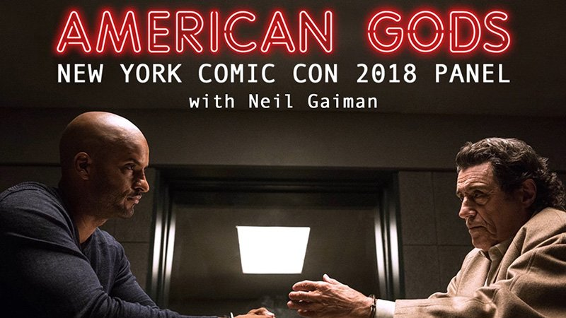 American Gods to Make First Appearance at New York Comic-Con 2018
