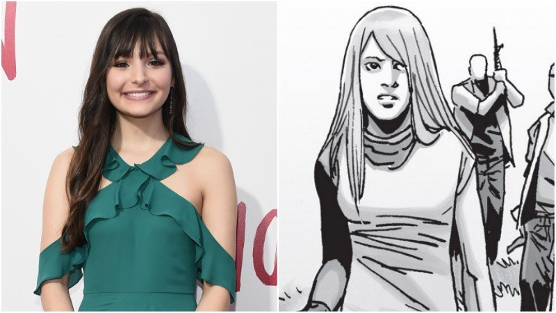 Cassady McClincy Cast in Key Walking Dead Role