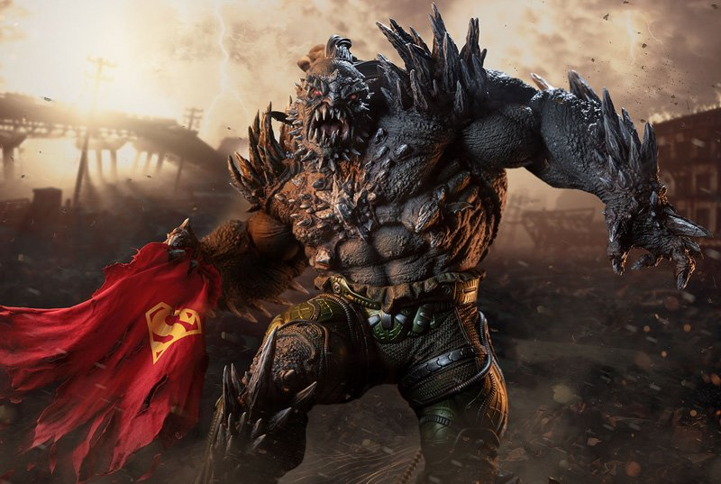 Sideshow Doomsday Statue Revealed in New Photos