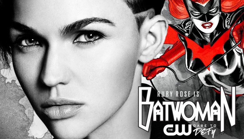 Ruby Rose gets emotional about LGBT superhero casting