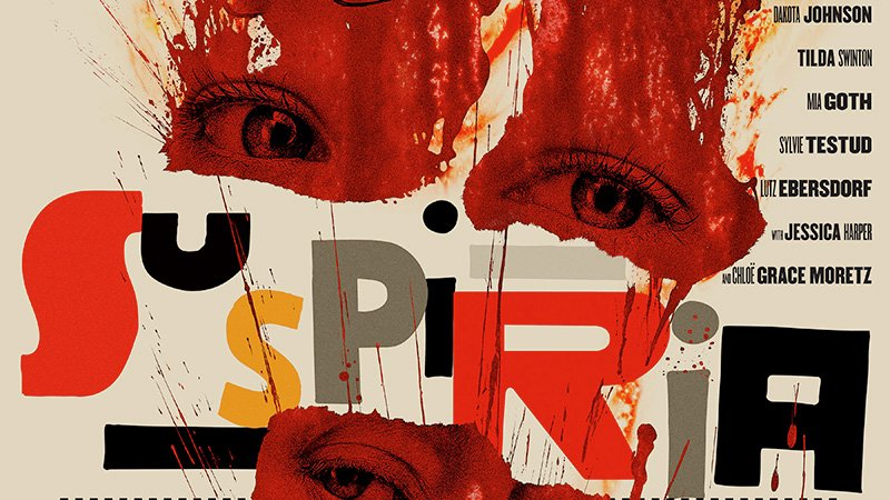 Feast Your Eyes on the Official Suspiria Movie Poster