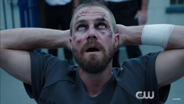 New Arrow Season 7 Trailer Reveals a Green Arrow Impersonator