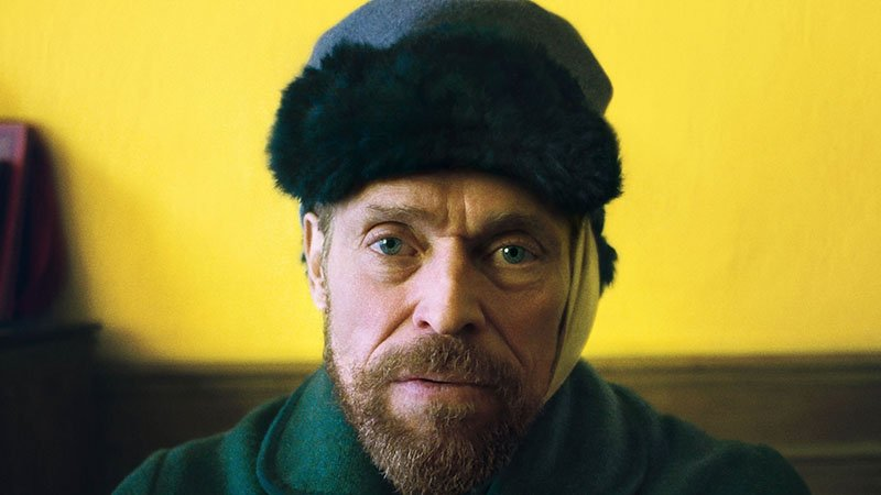 First Look at Willem Dafoe as Vincent Van Gogh in Eternity's Gate Poster