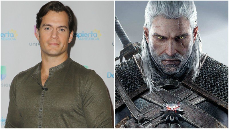 Henry Cavill will play Geralt in Netflix's adaption of The Witcher