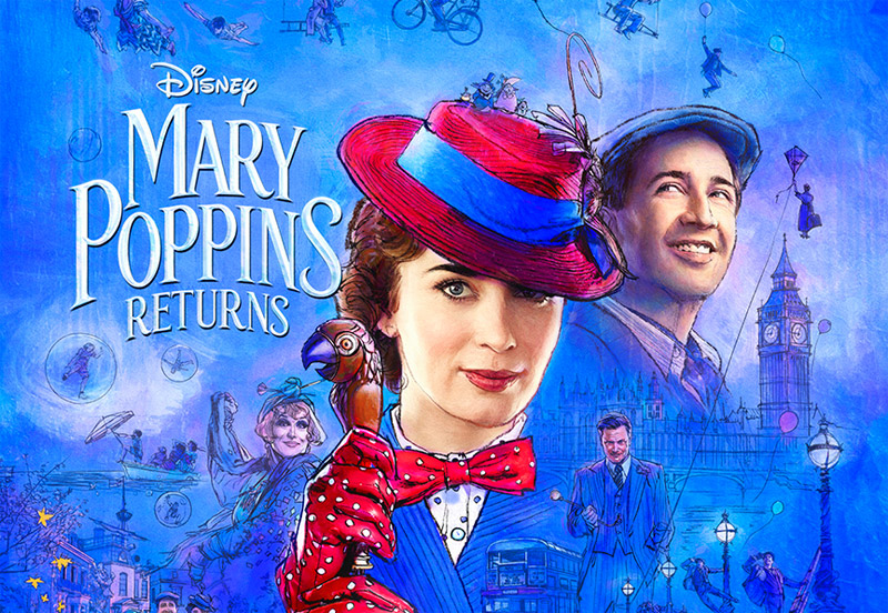 Image result for mary poppins returns poster