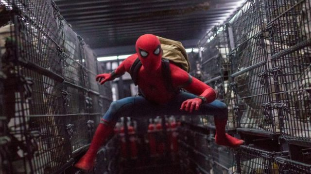 Spider-Man: Far From Home Set Video & Photos Reveals New Black Suit