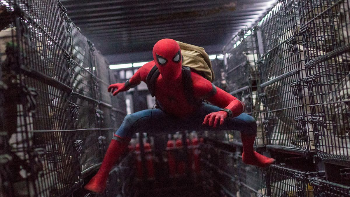 set photos from Spider-Man: Far From Home