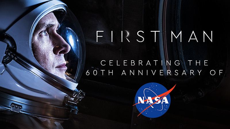 Get Tickets to Free Screenings of First Man to Mark NASA's 60th Anniversary!