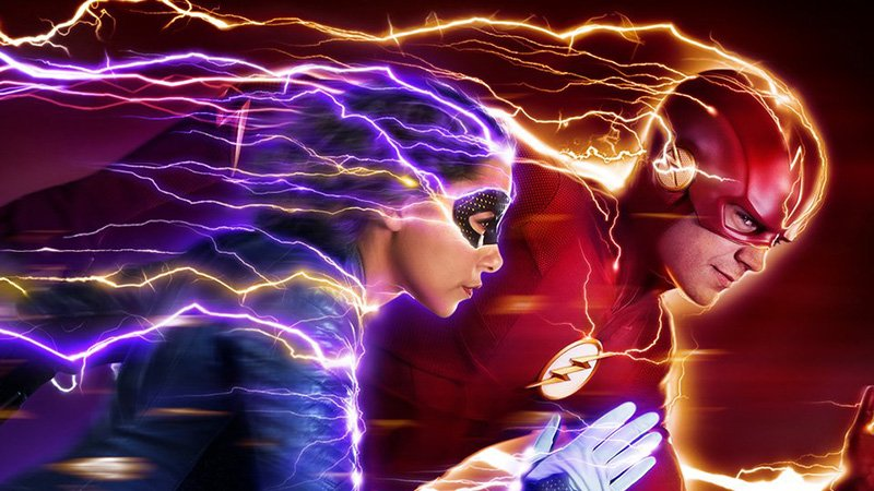 Beste The Flash Season 5 Poster: Fast, Present and Future - ComingSoon.net MZ-99