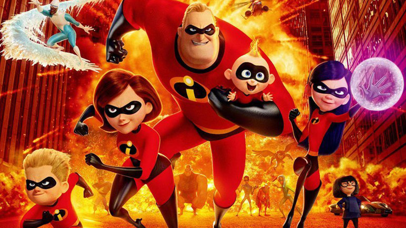incredibles 2 blu ray dvd and digital hd details announced