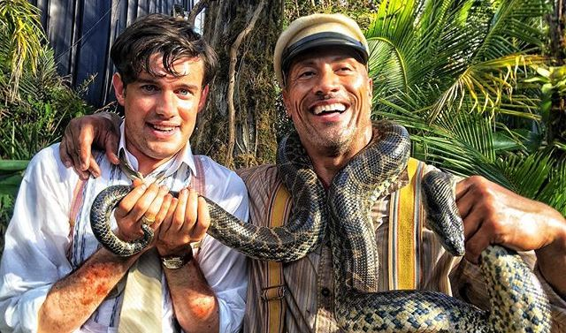 New Behind-the-Scenes Photo for Disney's Jungle Cruise!