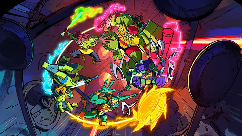 Nickelodeon's Rise of the Teenage Mutant Ninja Turtles Coming to NYCC 2018