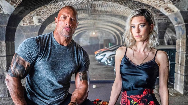 Vanessa Kirby in the upcoming Hobbs & Shaw
