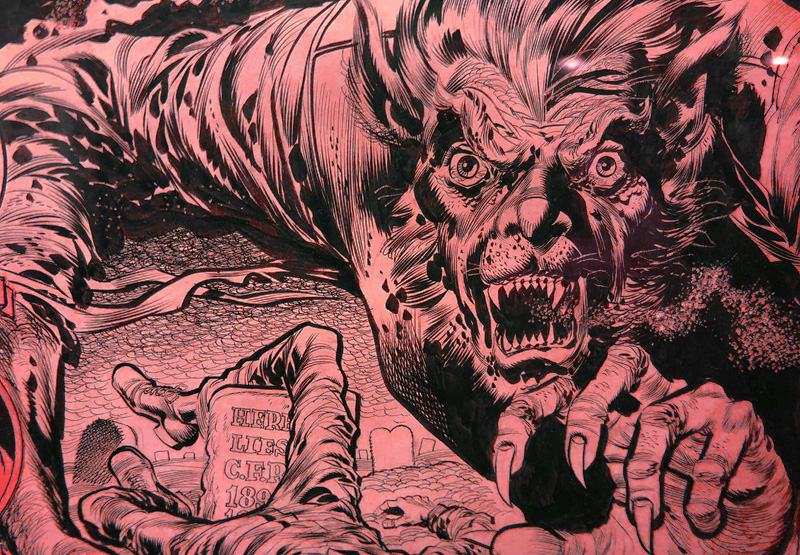 EC Horror Comics Art Gallery From Society of Illustrators Exhibit