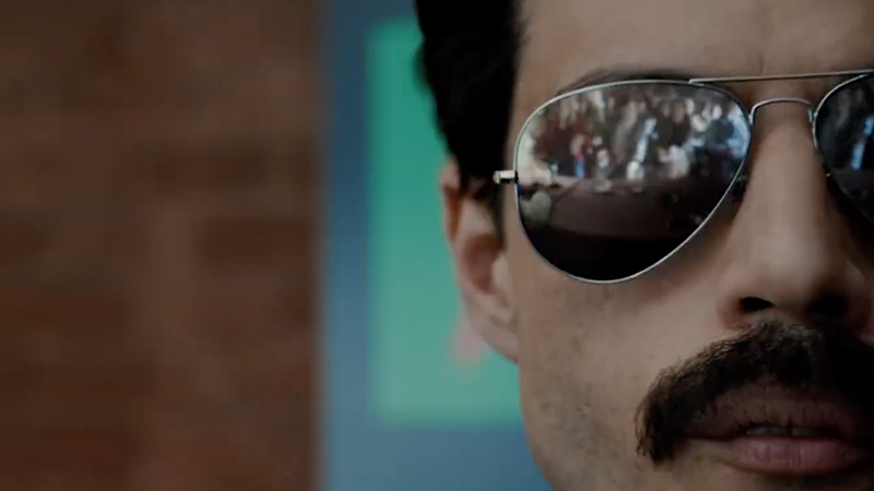 New Bohemian Rhapsody TV Spot Reveals the Madness Behind the Rock