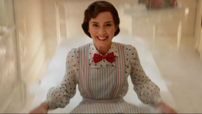 Emily Blunt Teases New Music in Mary Poppins Returns Trailer