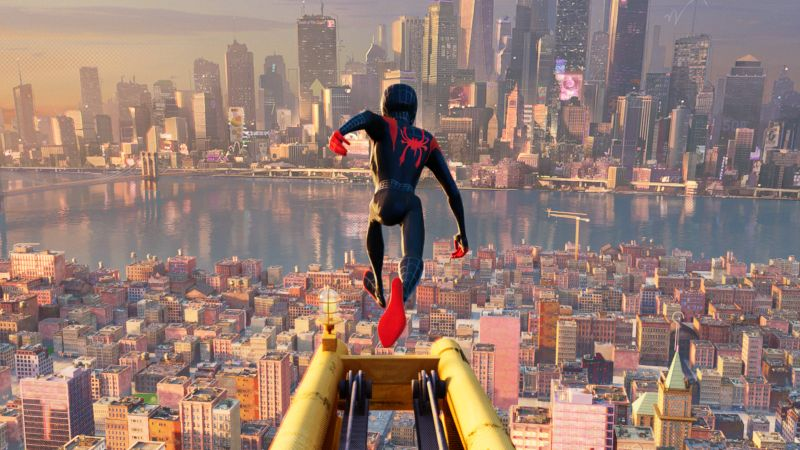 New Spider-Man: Into the Spider-Verse Trailer is here!