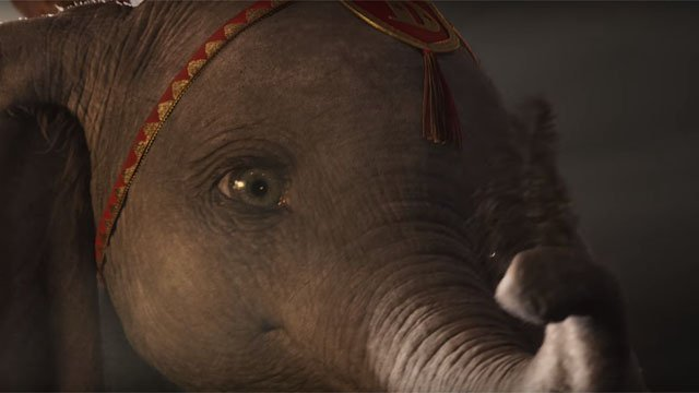 Full Trailer for Disney's Live-Action 'Dumbo' Directed by Tim Burton