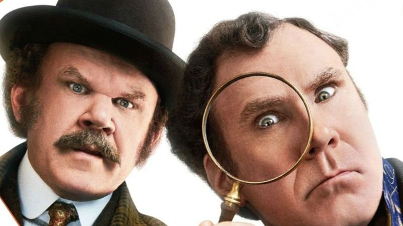 Will Ferrell and John C. Reilly Search for Clues On Holmes & Watson Poster