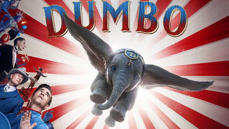 'Dumbo' is Welcomed into the Circus in New Trailer