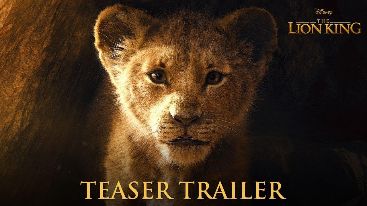 'The Lion King' official teaser trailer is here