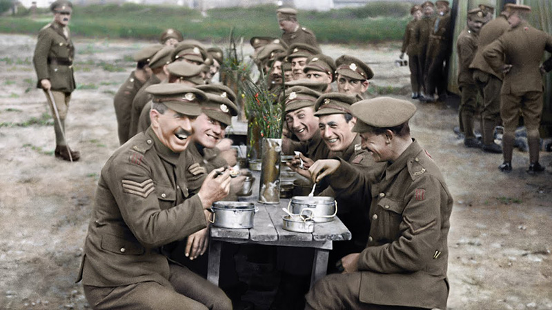 Peter Jackson's WWI They Shall Not Grow Old Trailer Released