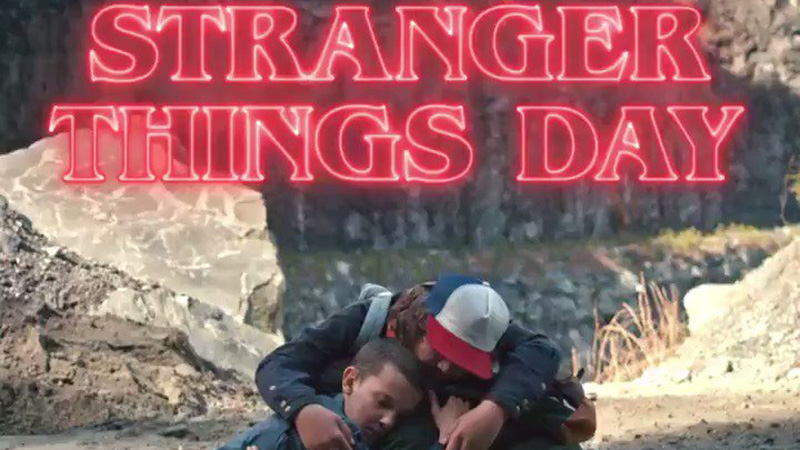 Netflix Invites Fans to Celebrate Stranger Things Day in New Video