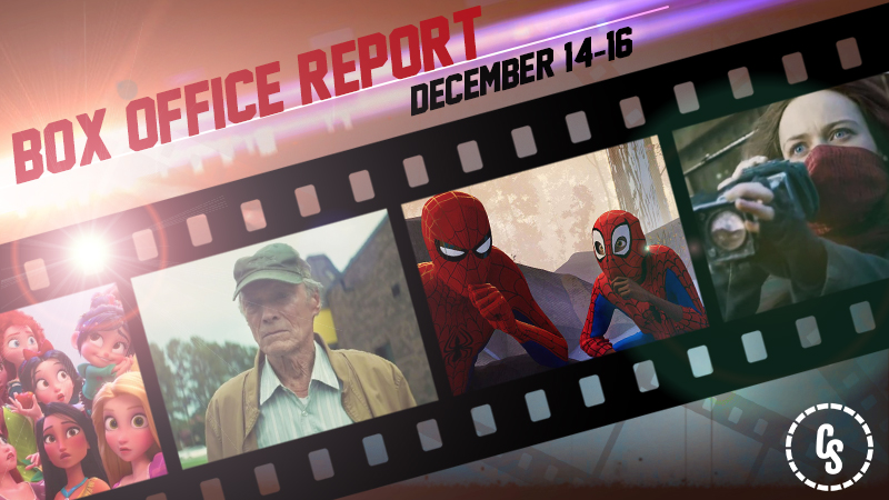Spider-Verse Webs Up the #1 Spot and Sets December Opening Record