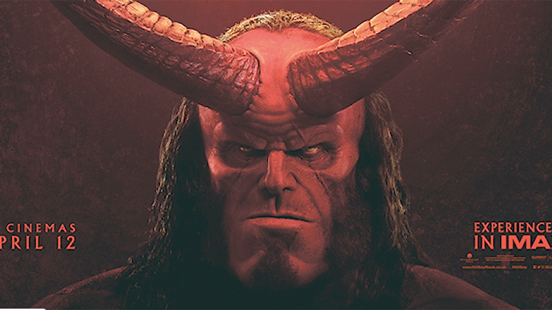 First Hellboy Teaser Premieres Ahead of Thursday Trailer