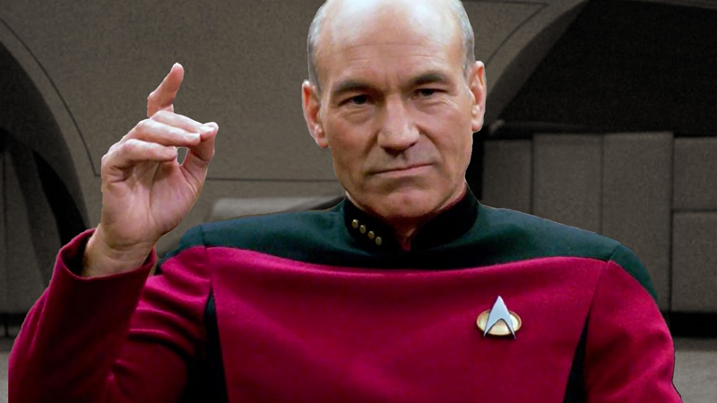 Picard's Life is Much Different in New Star Trek Series