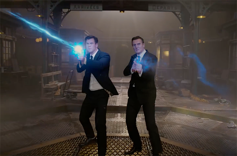 Chris Hemsworth replaces Will Smith in first 'Men in Black: International' trailer