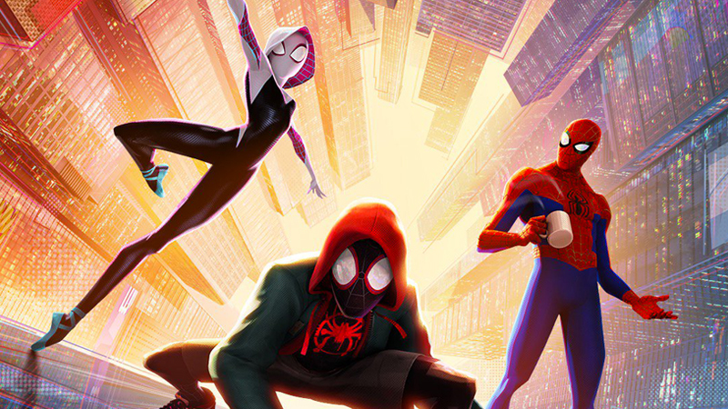 RealD 3D Poster for Spider-Man: Into the Spider-Verse