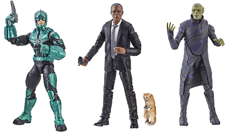 Hasbro Reveals First Captain Marvel Products