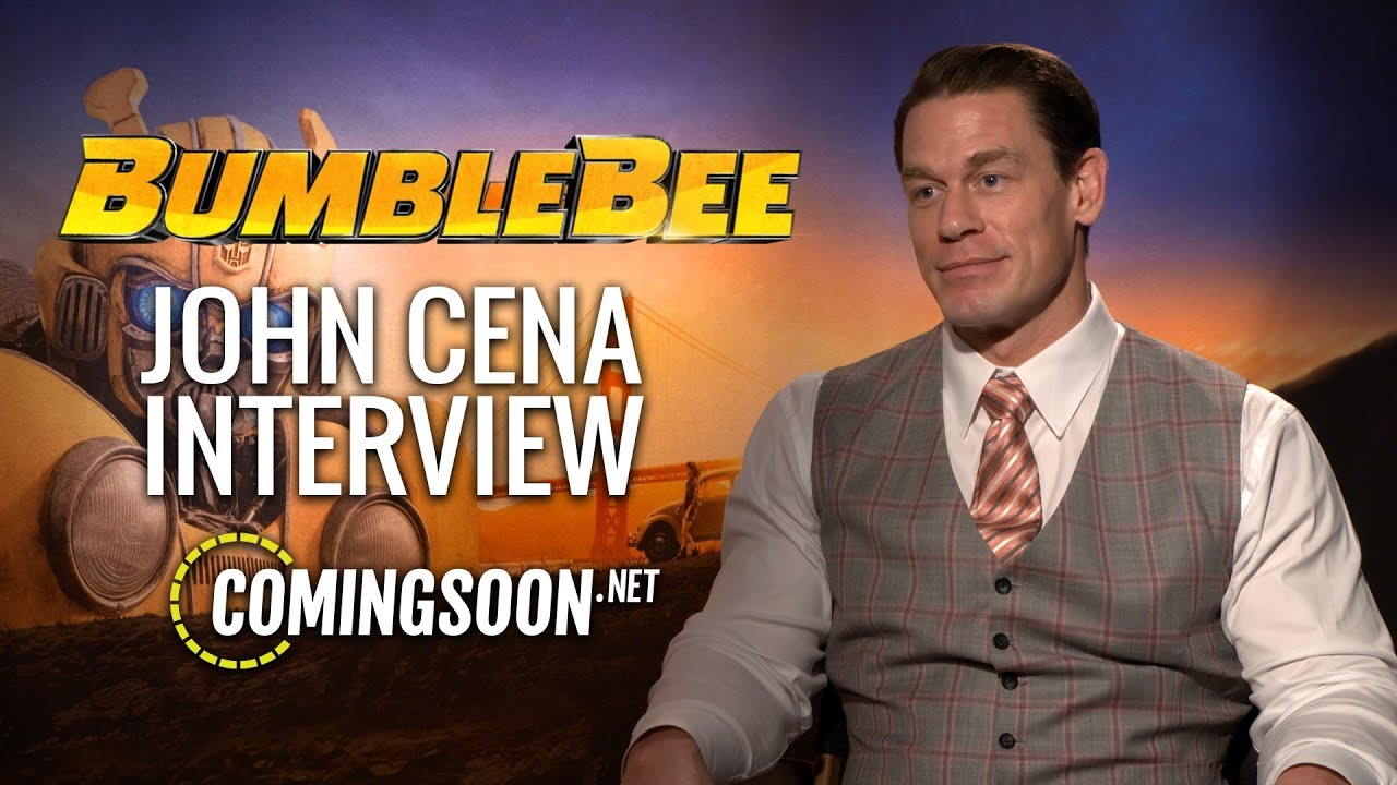 CS Video: John Cena Talks Playing the Bad Guy in Bumblebee