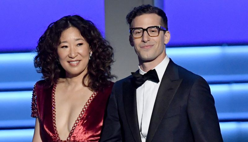 Sandra Oh, Andy Samberg to co-host Globes