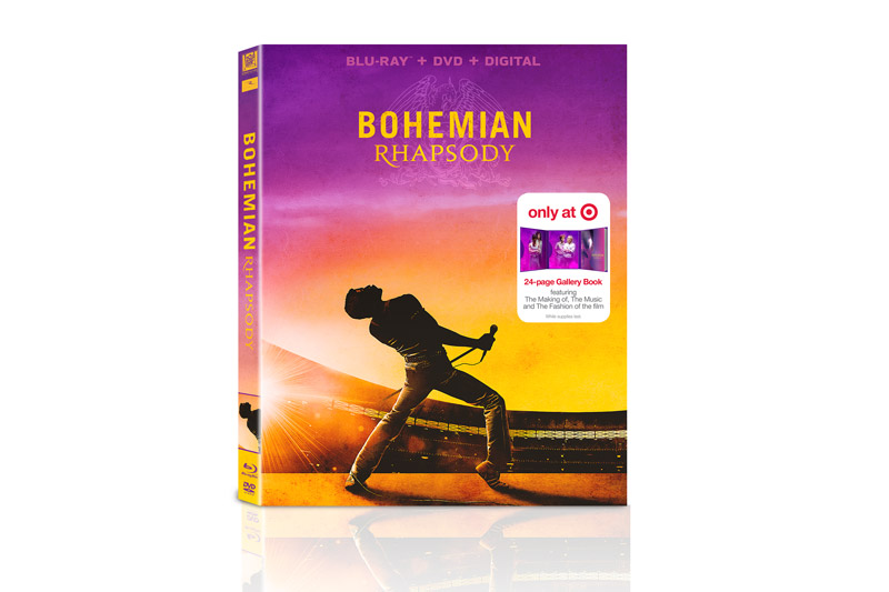 Exclusive: Bohemian Rhapsody Target Blu-ray Packaging Unveiled