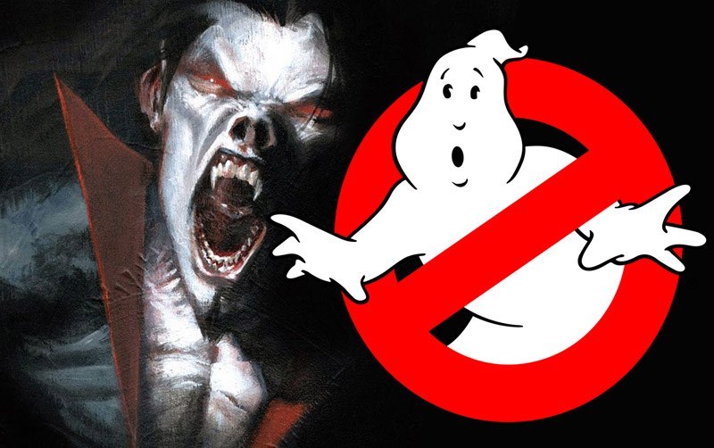 Sony Sets Morbius and Ghostbusters 3 Release Dates