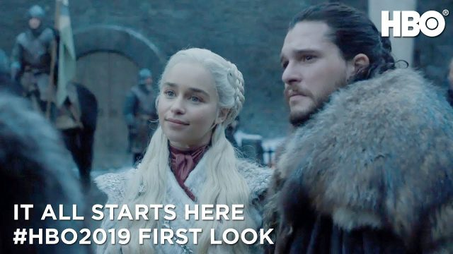 Teaser footage of Game of Thrones season 8 aired at Golden Globes