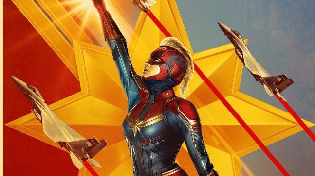 Get Ready to Marvel With the New Captain Marvel TV Spot