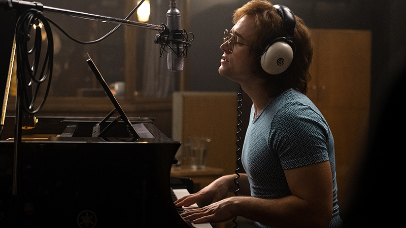 Taron Egerton is Elton John in New Rocketman Movie Photos