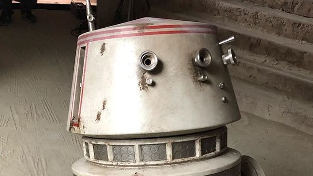 Jon Favreau Teases A Classic Star Wars Droid in The Mandalorian